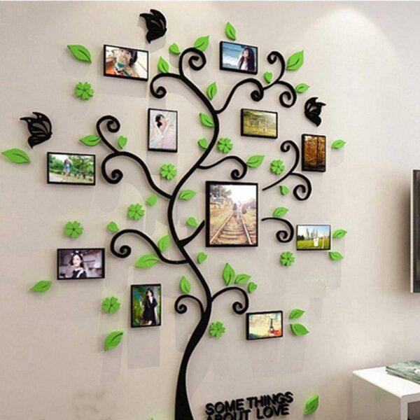 3D DIY Assembly Photo Frame Tree