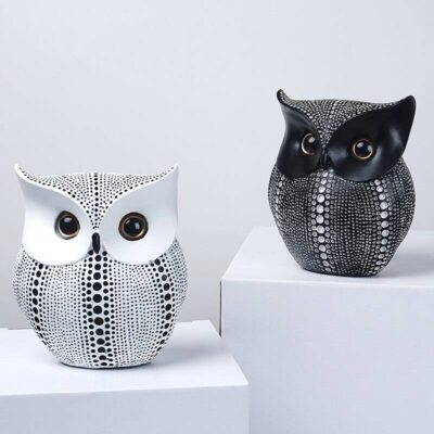 Cute Nordic Style Minimalist Home Owl Ornament