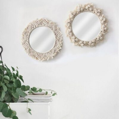 Hand-Made Wall Hanging Mirror