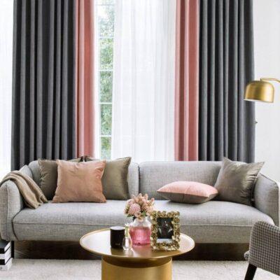 Modern Nordic Luxurious Curtains