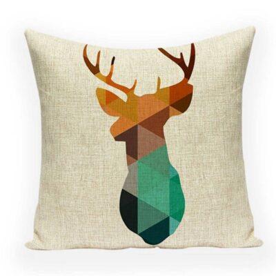 Nordic Geometric Decorative Pillowcase