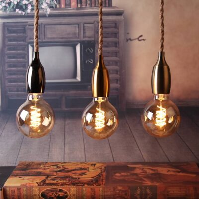 Nordic Hemp Rope Pendant Lights
