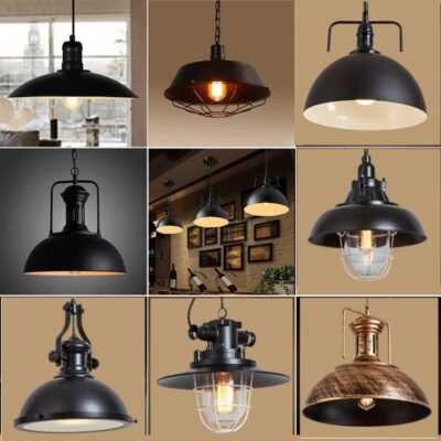 Nordic Industrial Vintage Pendant Lights