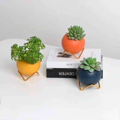 Nordic Morandi Ceramics Flower Pot