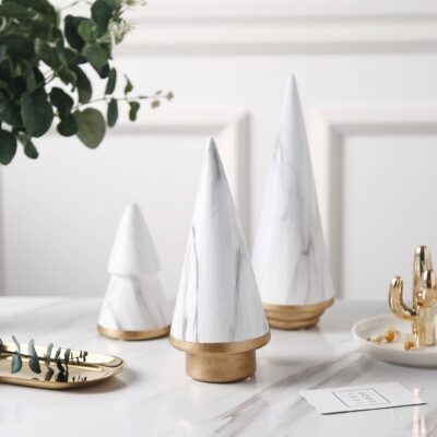 Nordic Style Tree Art Crafts for Home Decoration