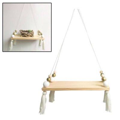 Nordic Style Wooden Storage Shelf