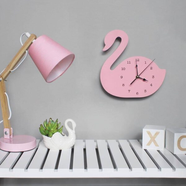 Nordic Wall Clock for Kids Room
