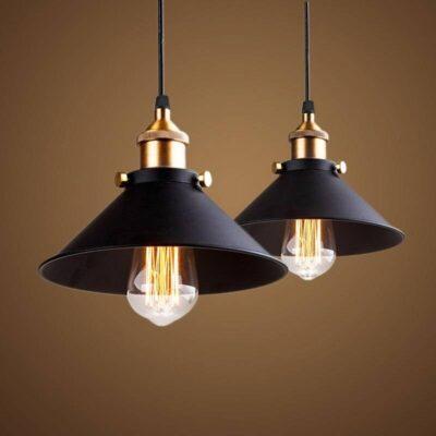 Vintage Nordic Industrial Lamp