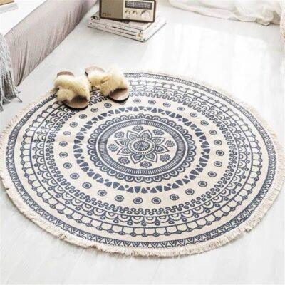 Nordic Round Bohemian Carpet
