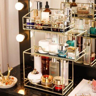 Rotating Cosmetic Storage Box
